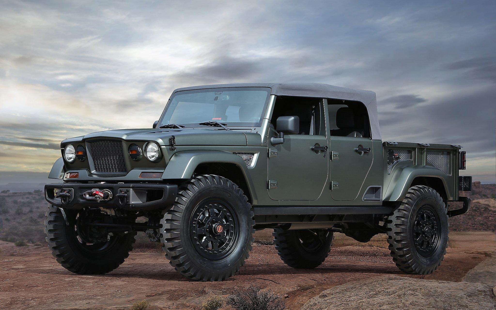 Jeep unveils seven off-road concept vehicles