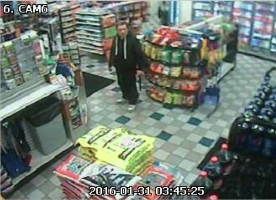 Suspect in attempted holdup of Mobil on the Run in Milford Photo: Contributed Photo / Milford Police