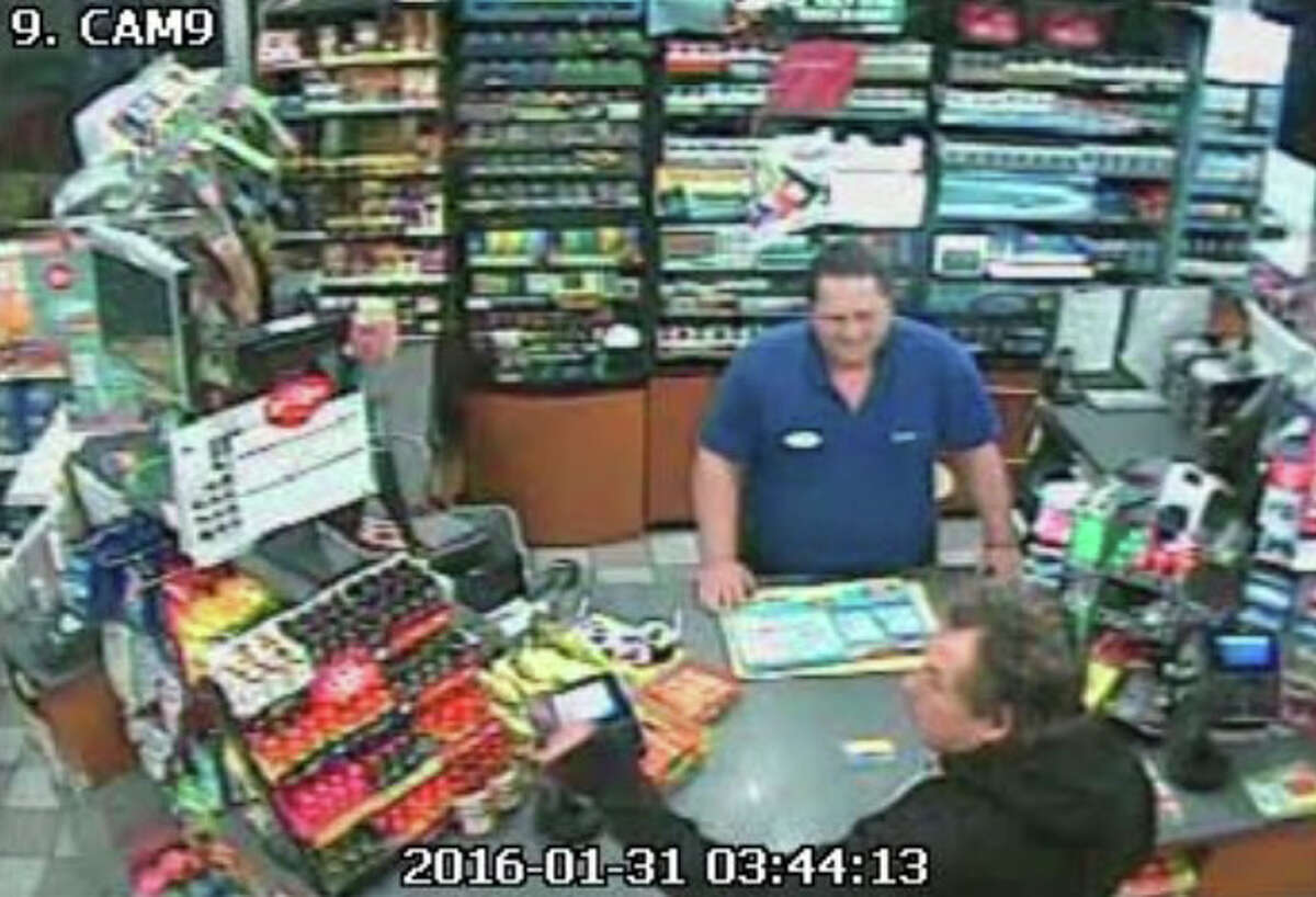 Suspect in attempted hioldup of Mobil on the Run in Milford