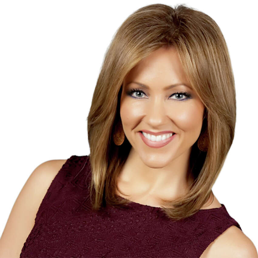 WOAI-TV anchorwoman Delaine Mathieu as you're used to seeing her on the news.(WOAI photo)
