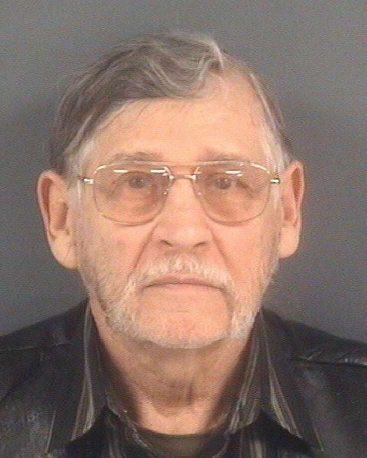 John Franklin McGraw, 78, has been charged with assault and battery and disorderly conduct after allegedly sucker-punching a protester at a Donald Trump rally on March 9, 2016, in Fayetteville, North Carolina.