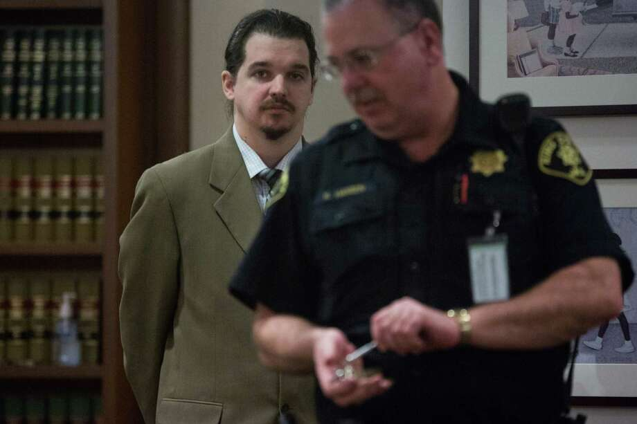 Christopher Sefton enters King County Superior Court Judge James Cayce's courtroom in Kent on Wednesday, Mar. 9, 2016. Photo: GRANT HINDSLEY, SEATTLEPI.COM / SEATTLEPI.COM