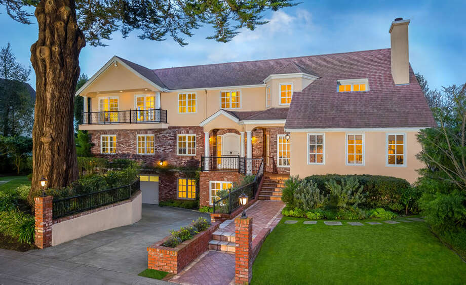 An Eight Bedroom Mansion In San Franciscos St Francis Wood Neighborhood Is Touted As