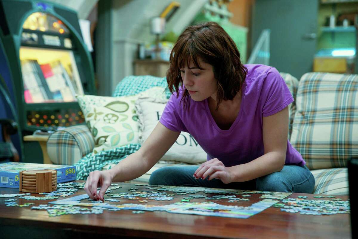 This image released by Paramount Pictures shows Mary Elizabeth Winstead in a scene from