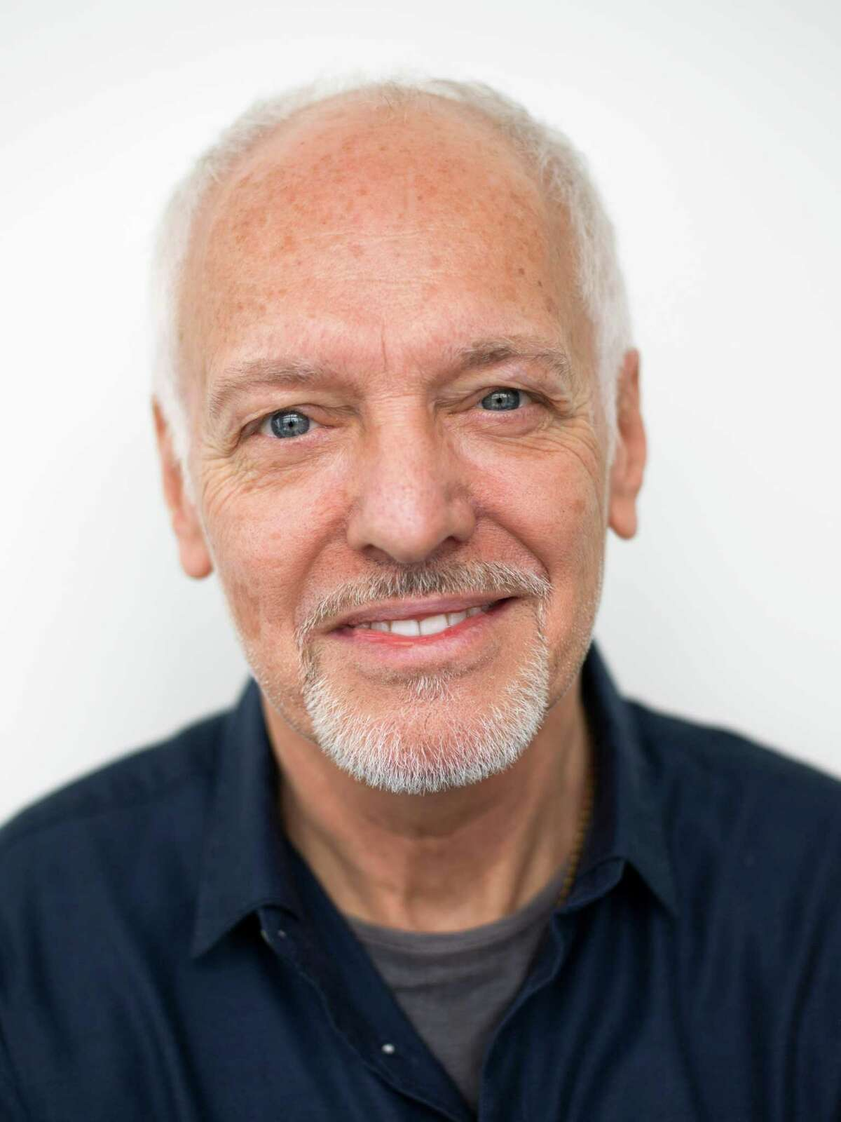 In this Feb. 25, 2016 photo, musician Peter Frampton poses for a portrait in New York. The English-born Frampton, now 65, released, ?