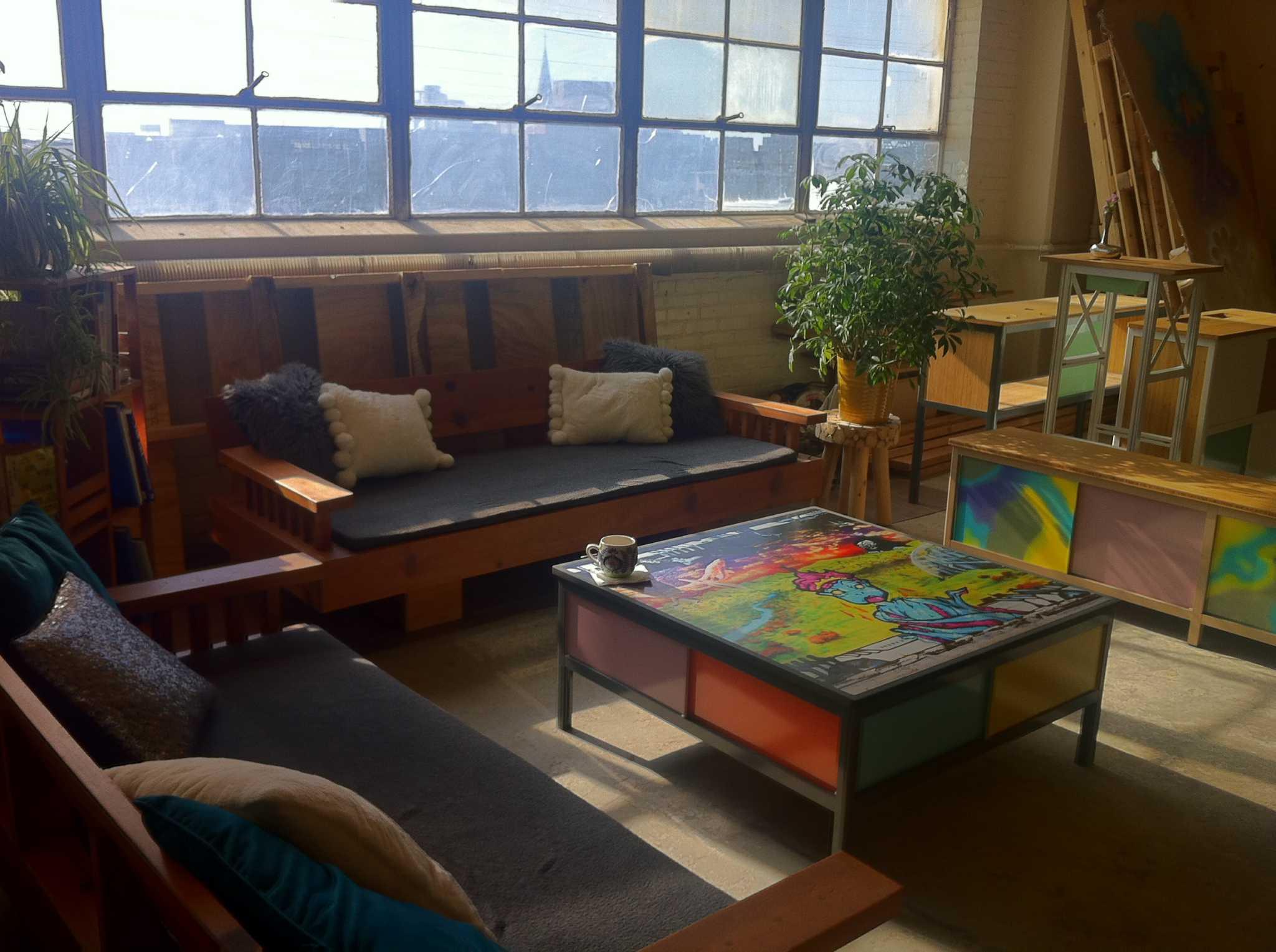 Bridgeport furniture makers modern modular line leaves room for creativity