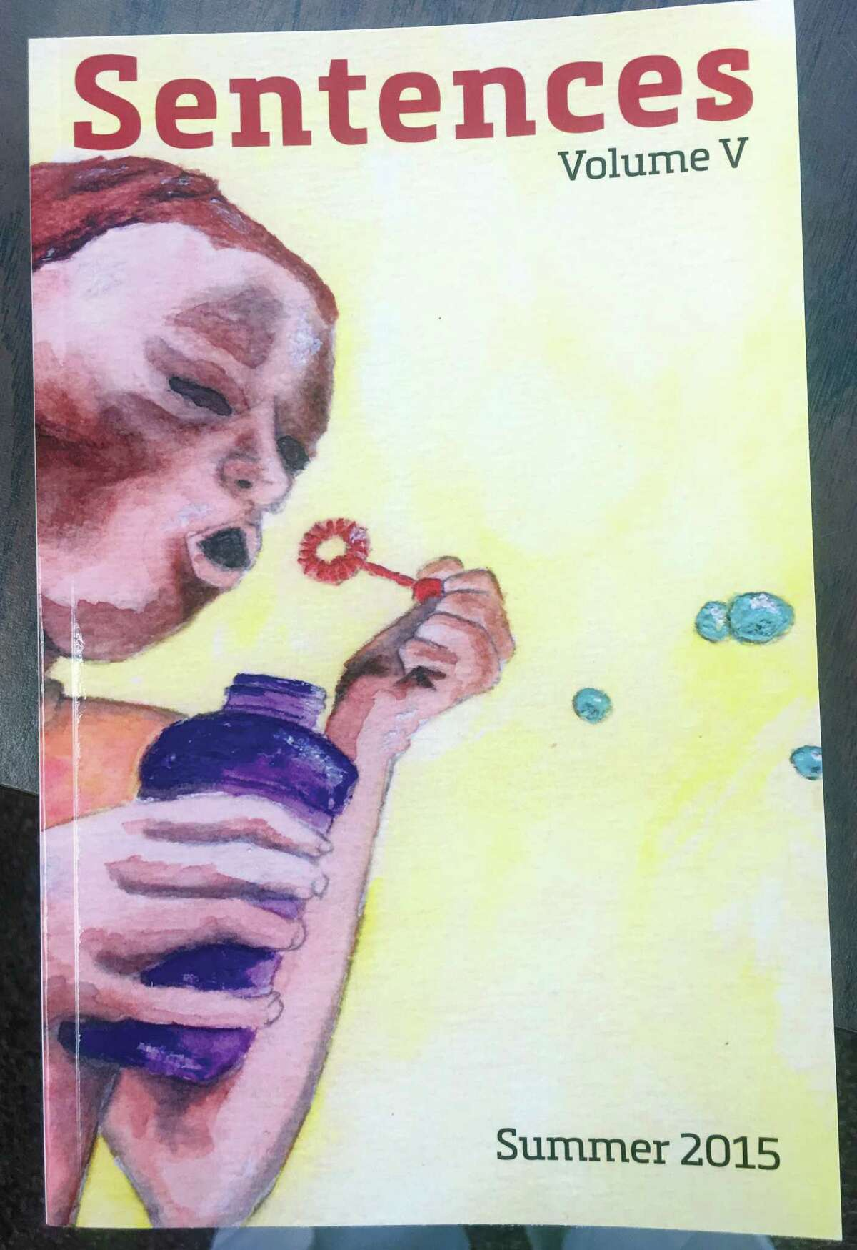 Artwork from prisoners who participated in a Chris Belden about writing program.