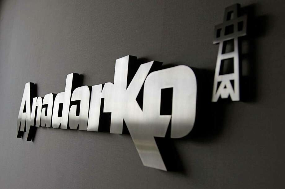 The corporate logo in a reception area at the Anadarko Petroleum campus Friday, Sept. 18, 2015, in The Woodlands.  ( James Nielsen / Houston Chronicle ) Photo: James Nielsen, Staff / © 2015  Houston Chronicle