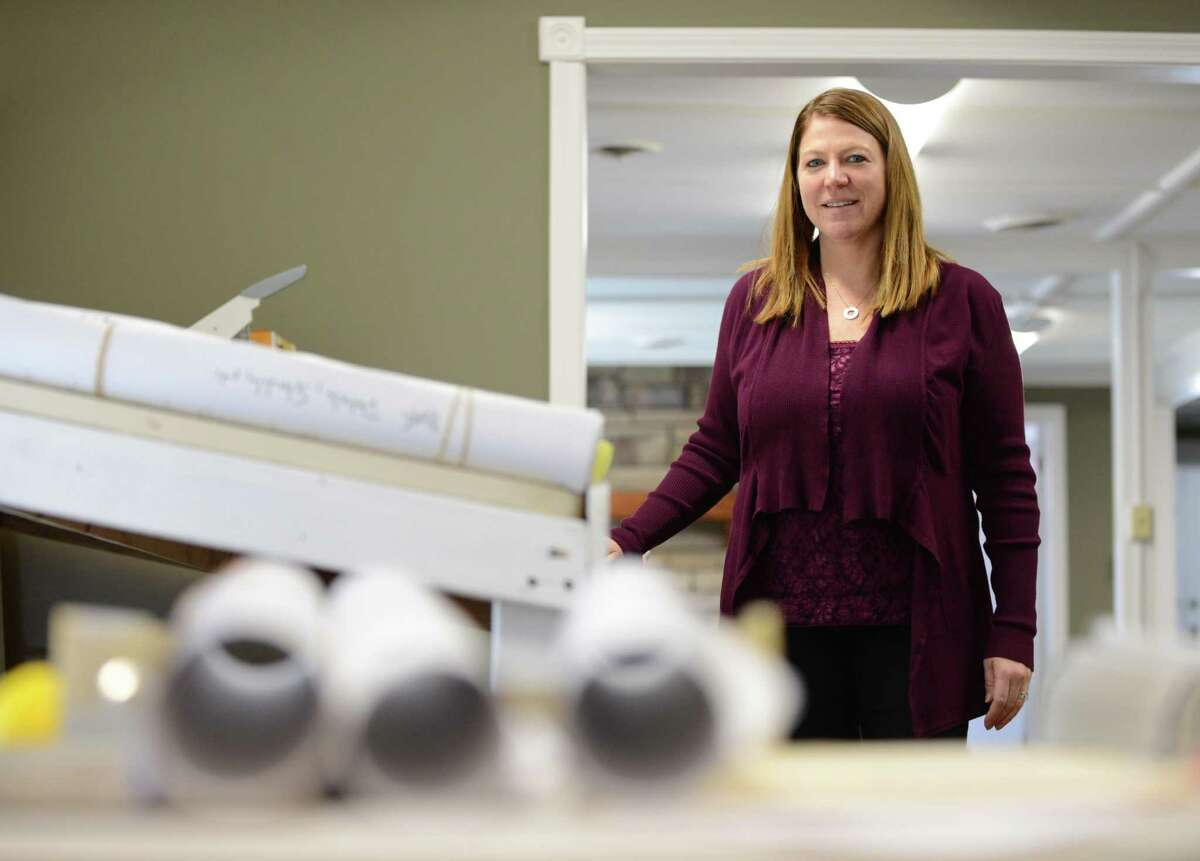 Eileen Venn, owner of Mechanical Testing Inc., at her Lake Ave. office on Wednesday, March, 2, 2016, in Saratoga Springs, N.Y. (Will Waldron/Times Union)