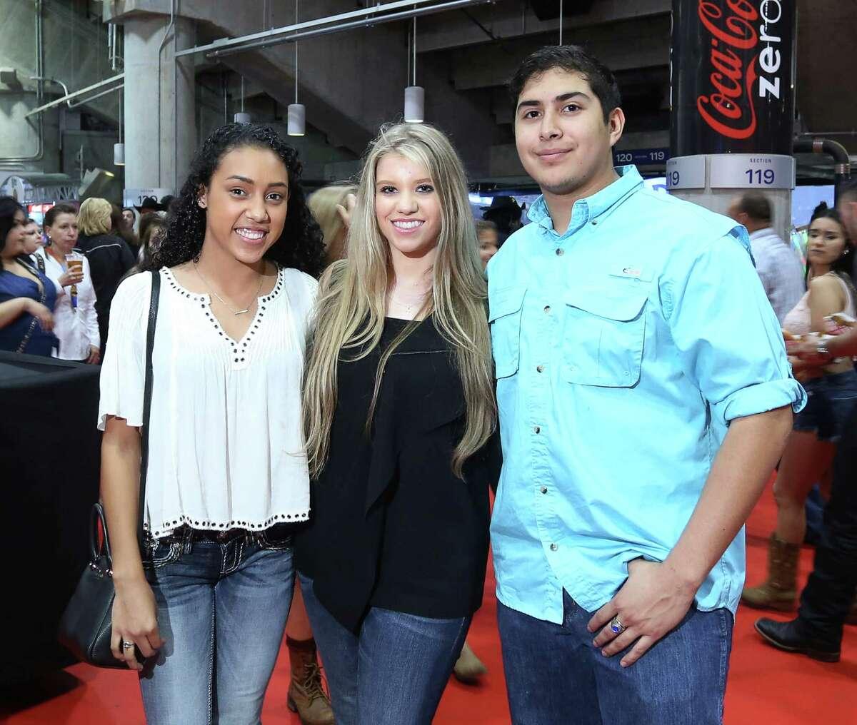 Luke Bryan fans at his RodeoHouston concert on Thursday