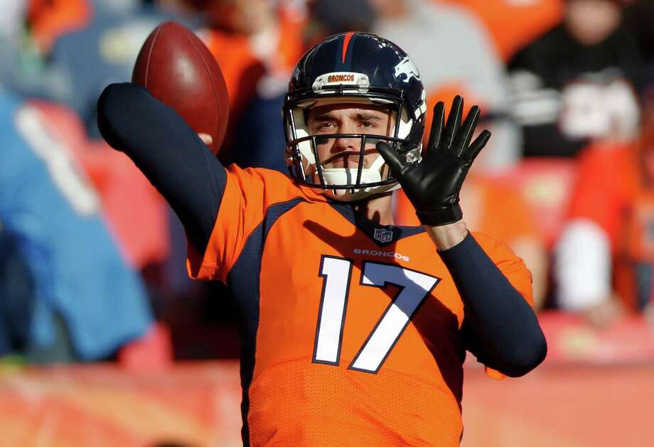 Brock Osweiler. Photo: David Zalubowski, AP Photo / Copyright 2016 The Associated Press. All rights reserved. This material may not be published, broadcast, rewritten or redistribu