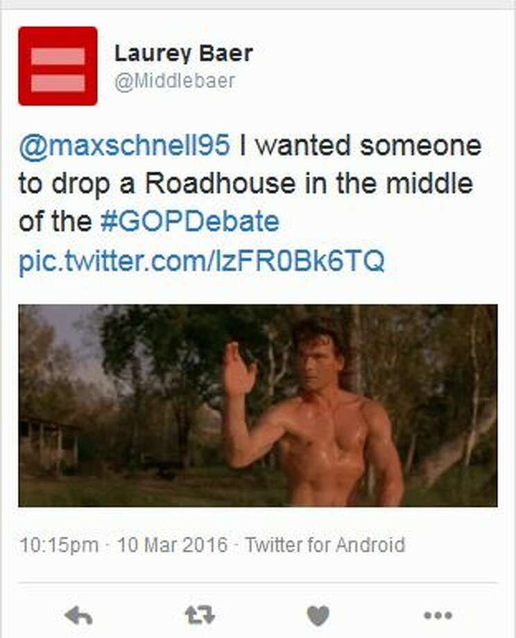 @Middlebaer: I wanted someone to drop a Roadhouse in the middle of the #GOPDebate