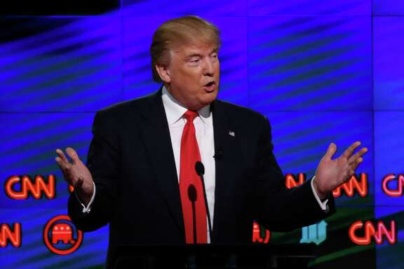 """""""I cannot believe how civil it's been up here,"""" Donald Trump said at one point during Thursday's debate."""