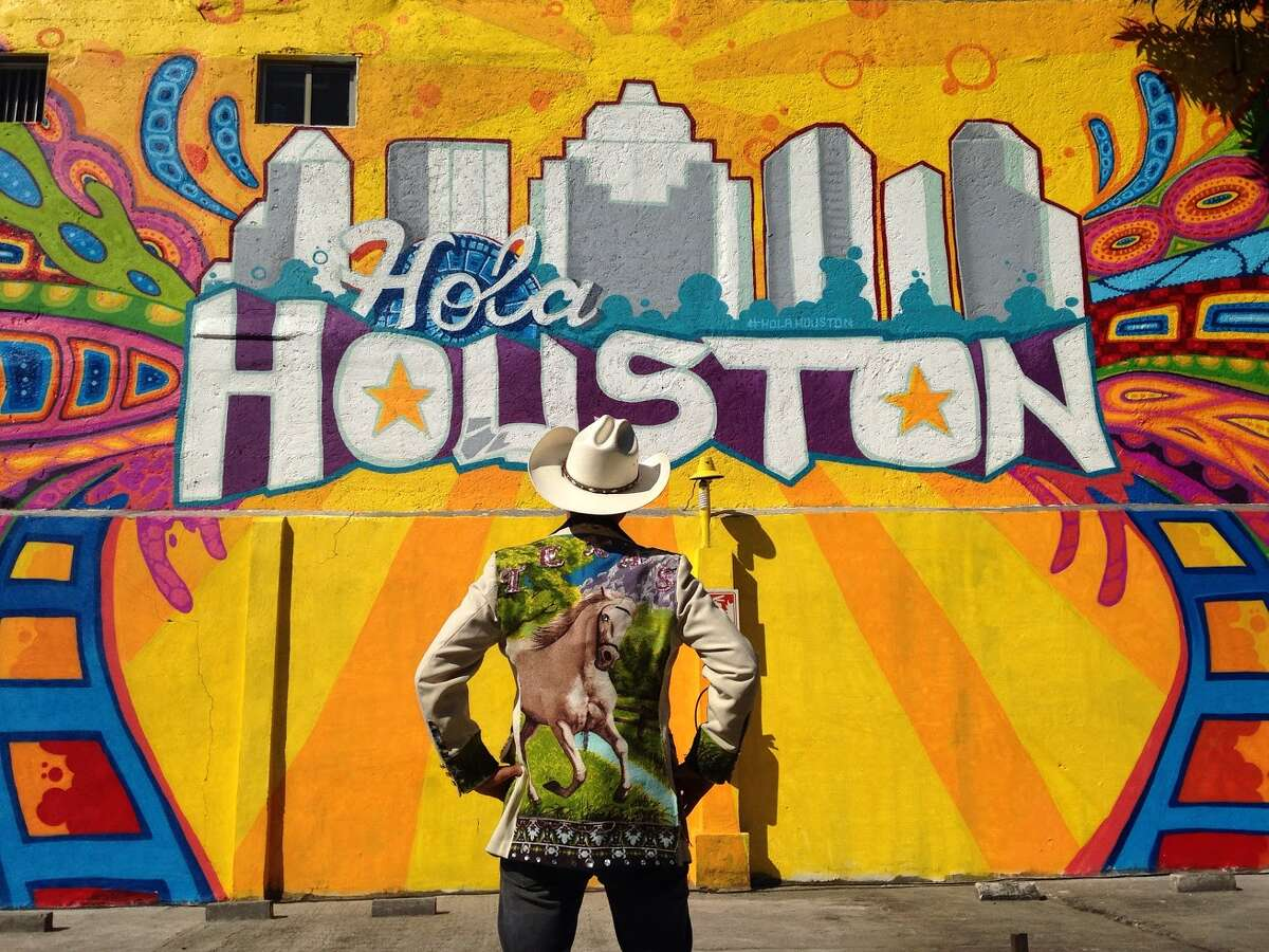 """Visit Houston, the tourism booster group, in March 2016 launched a Mexico City marketing campaign called """"Hola Houston"""" to entice tourists to Houston from Mexico. The campaign initiated with noted Houston street artist GONZO247 painting a Houston mural in Mexico City, not unlike the """"Houston is"""" mural he installed at Preston and Travis in Downtown Houston."""