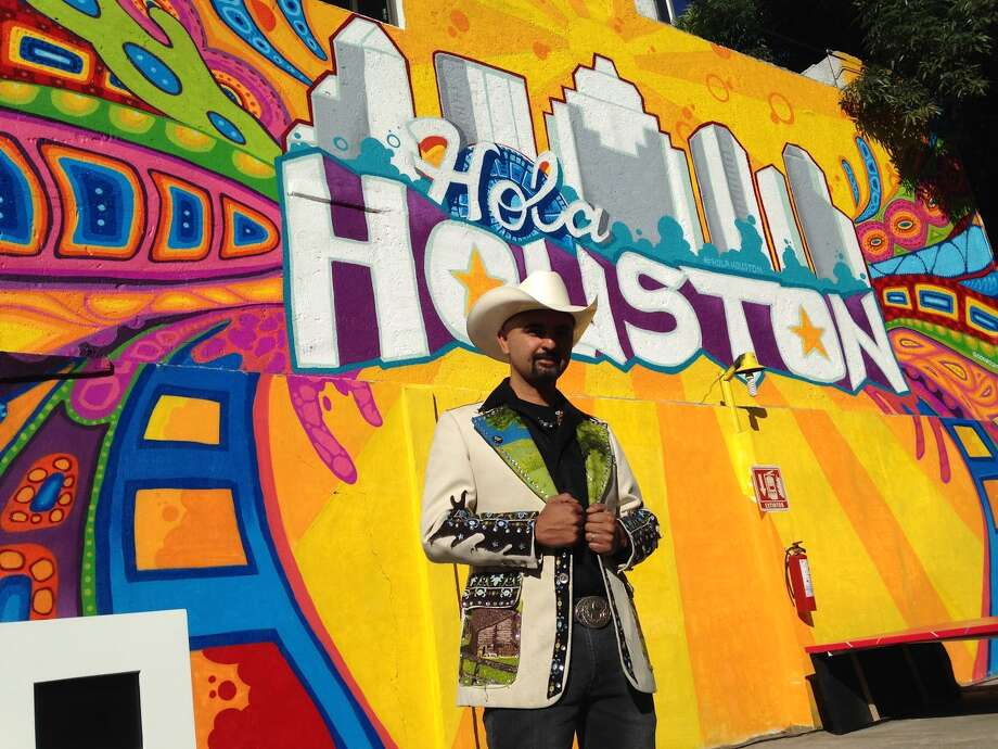 """Visit Houston, the tourism booster group, in March 2016 launched a Mexico City marketing campaign called """"Hola Houston"""" to entice tourists to Houston from Mexico. The campaign initiated with noted Houston street artist GONZO247 painting a Houston mural in Mexico City, not unlike the """"Houston is"""" mural he installed at Preston and Travis in Downtown Houston. Photo: Visit Houston / GONZO247"""