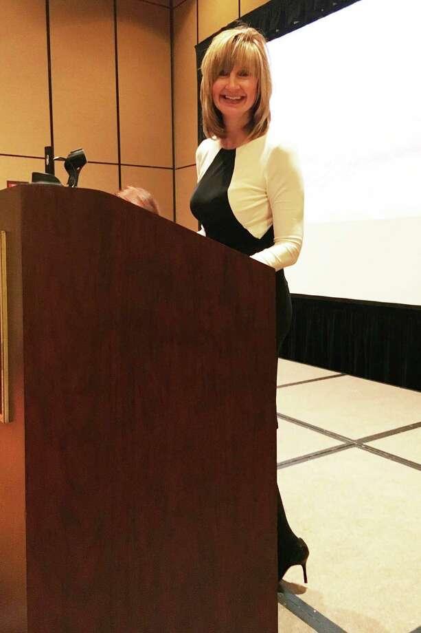 Keynote speaker Peggy Smith Photo: Michelle Sandlin