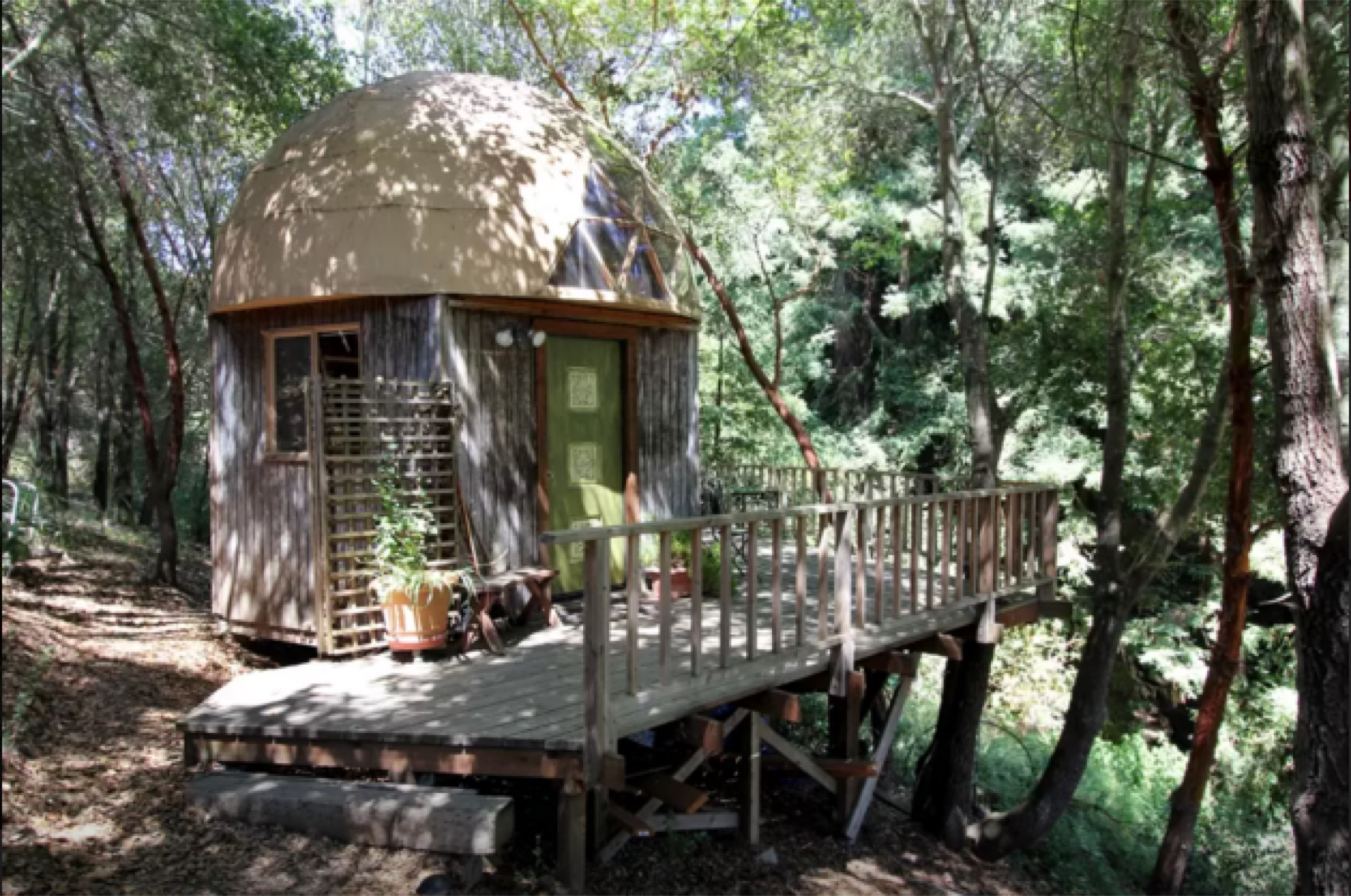 Mushroom Cabin Outside Santa Cruz Is Most Popular Airbnb In The World