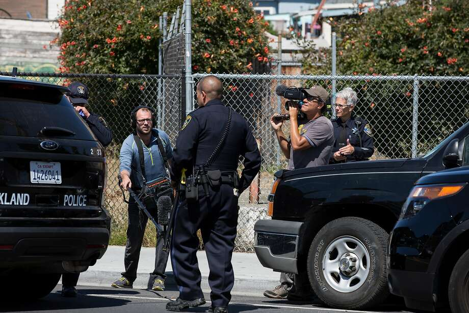 "Filmmaker Peter Nicks was given unfettered access to Oakland's Police Department to shoot his latest film, ""The Force."" Photo: Steve Havey"