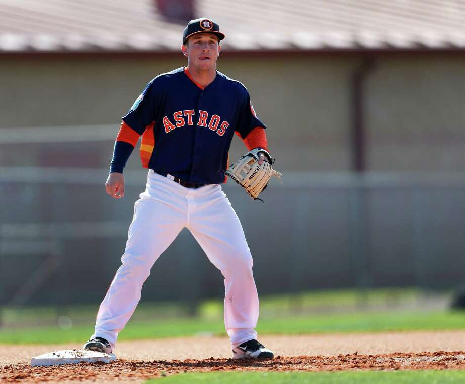 Astros prospect Alex Bregman, who'll play in Sunday's All-Star Futures Game, landed in Baseball America's top 10 rankings as the eighth-best MLB prospect.Click through the gallery to catch up with the Astros prospects who've played in the Futures Game. Photo: Karen Warren, Staff / © 2015  Houston Chronicle