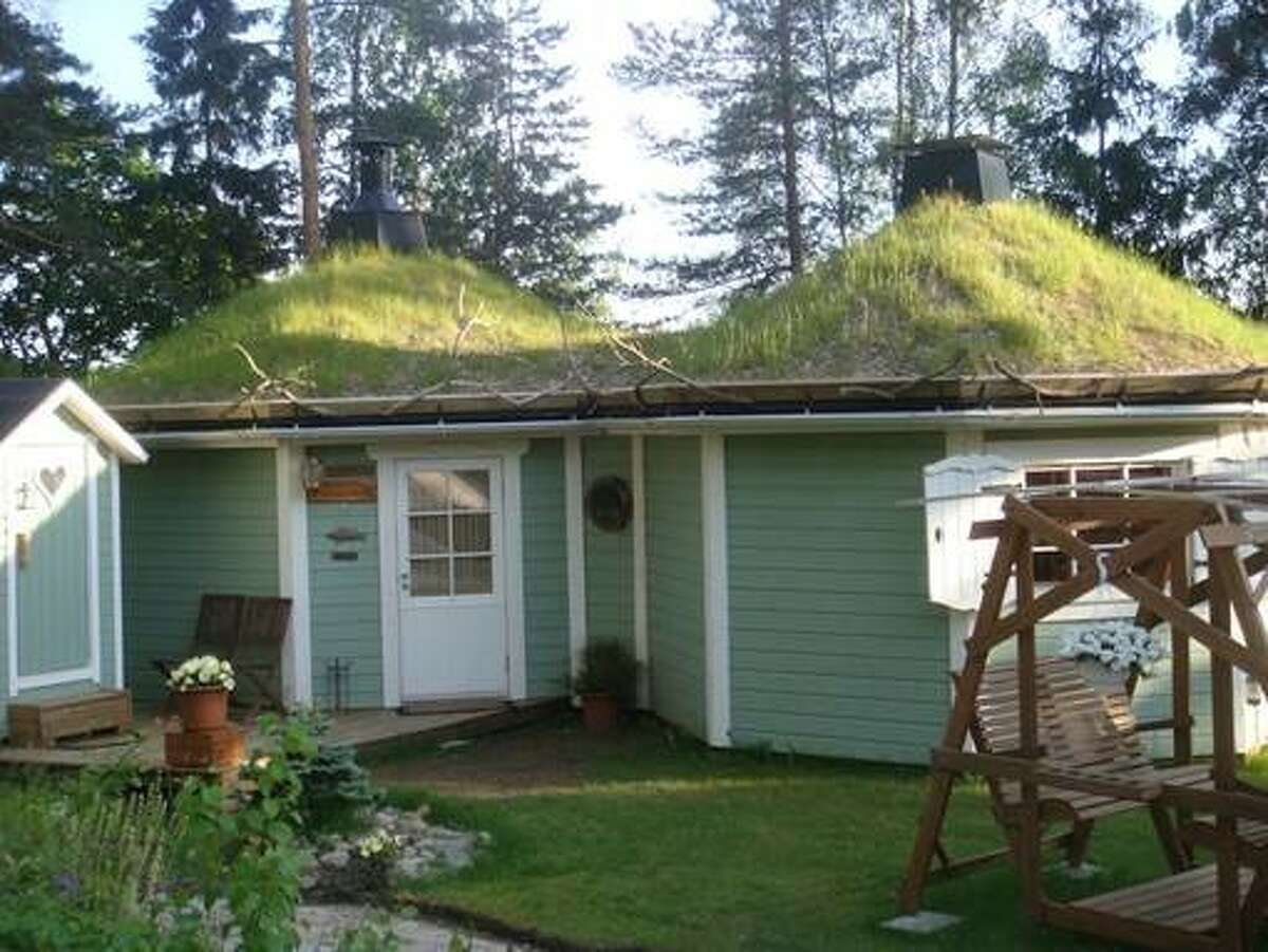 Grass Roofed House, Pernaja, Finland (from $71 per night): This quirky, grass-roofed house, named Villa Nordica, is located in the Pernaja, six miles from the nearest city center, Loviisa. For an extra cost, host Roya will take guests on a fishing trip to Merikarvianjoki.
