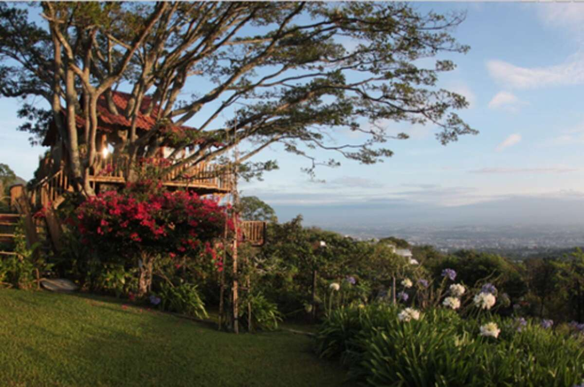 Treehouse, Costa Rica (from $71 per night): In the hills of San Antonio de Escazu, this treehouse is prime for spotting hummingbirds, admiring flowers and fruit orchards.