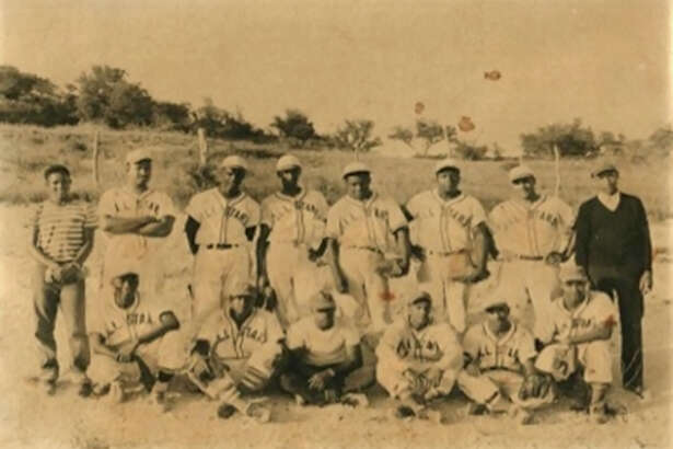 The Kerrville All Stars pose for a photo in 1949.