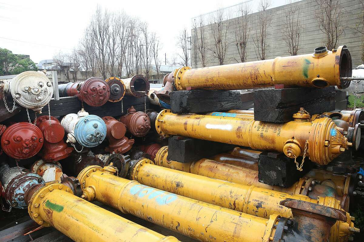 Fire hydrants will be on the auction block.