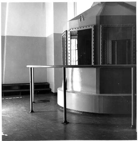 The gas chamber at San Quentin State Prison in 1967. Photo: Art Frisch, The Chronicle