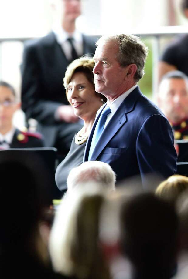President George W. Bush and his wife, Laura Bush, plan to be