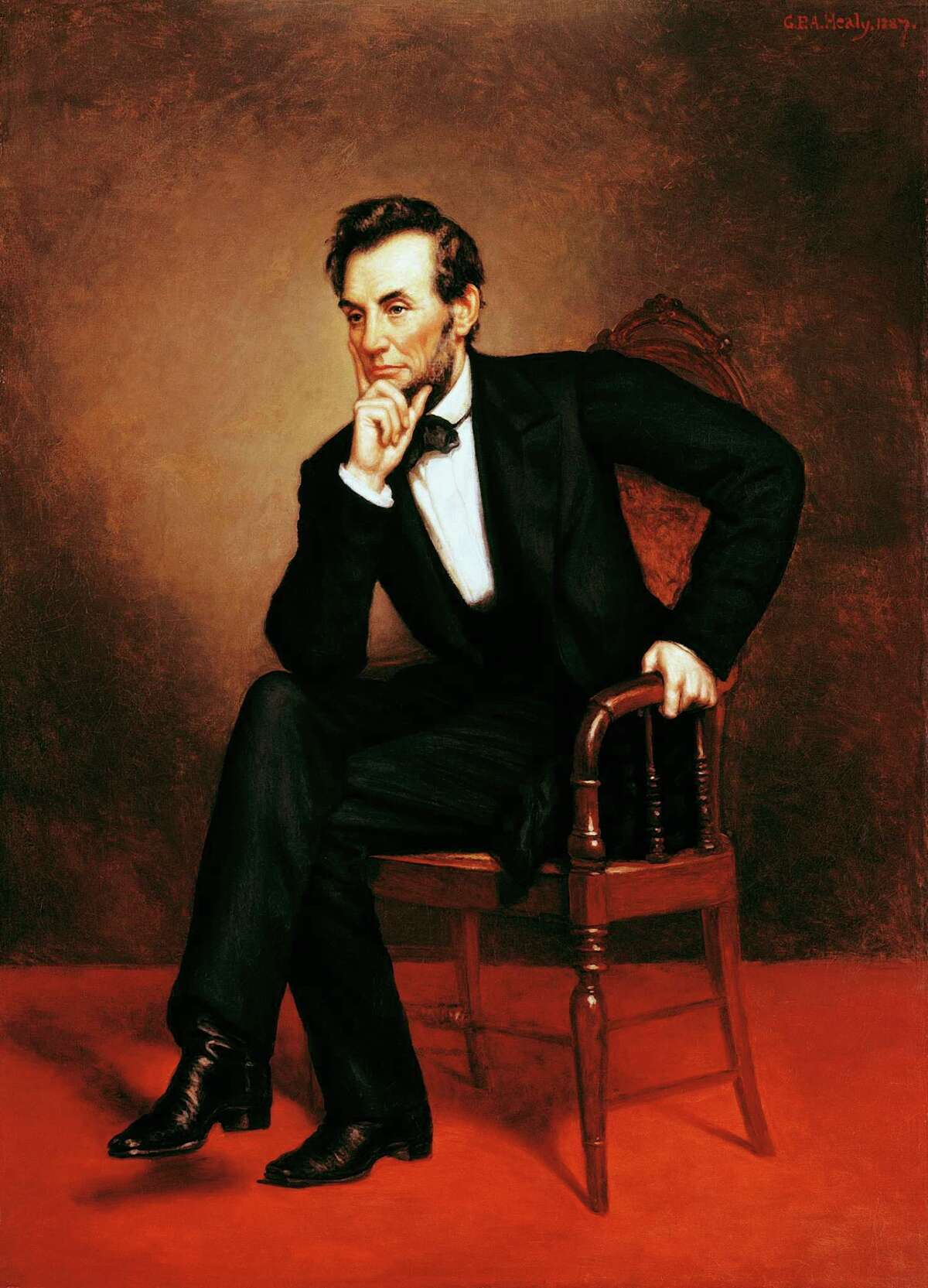 Abraham Lincoln In 1876, a counterfeiting ring conceived a plan to steal Abraham Lincoln's body and hold it for $200,000 ransom. They broke into the grave only to discover, at that moment, that one of their members was a government agent.