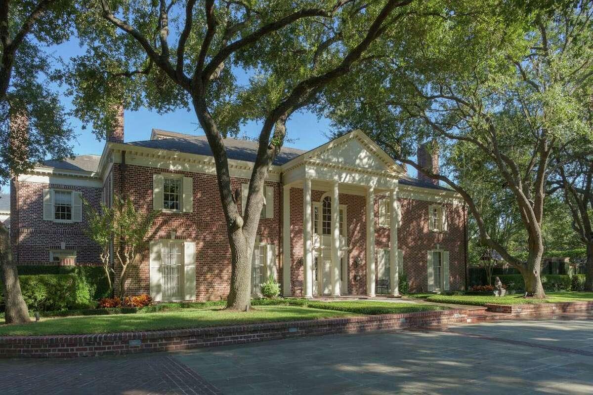 Houston: 1721 River Oaks Listing price: $14.95 million Square feet: 16,931 Price per square foot: $883