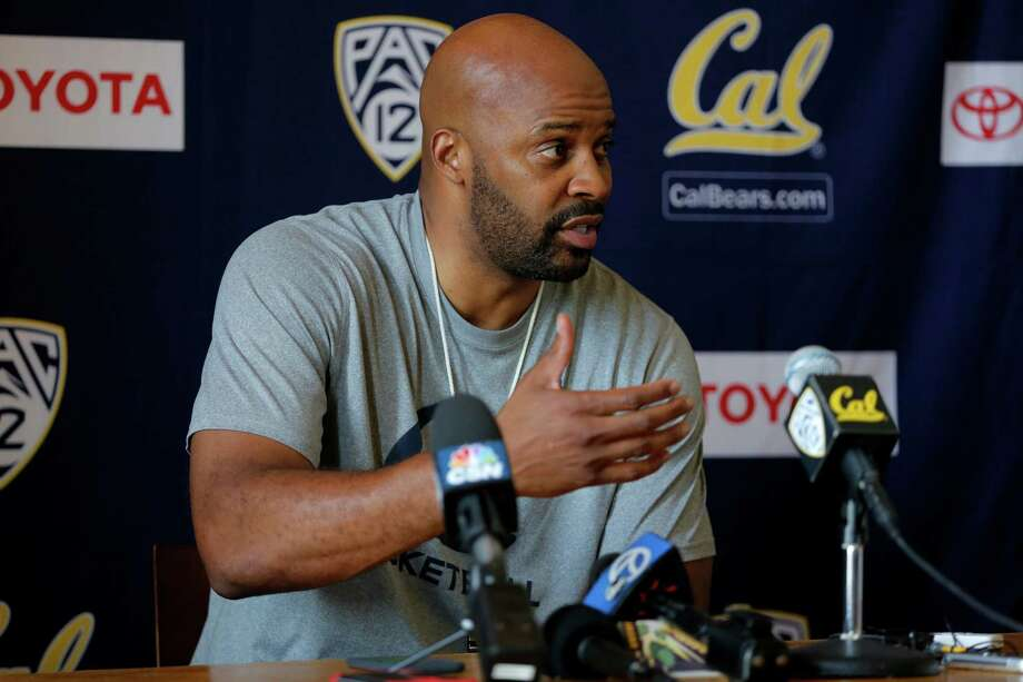 Head coach Cuonzo Martin speaks to the media before a Cal Bears men's basketball practice in Berkeley, California, on Wednesday, Oct. 7, 2015. Photo: Connor Radnovich / The Chronicle / ONLINE_YES