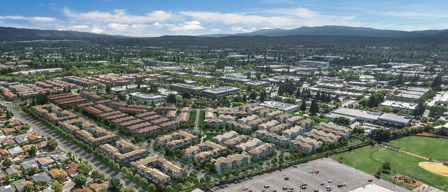 Rendering of Landsea townhouse development in Sunnyvale Photo: Landsea Holdings