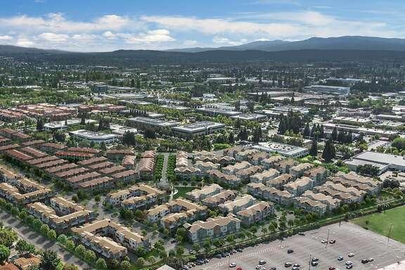 Rendering of Landsea townhouse development in Sunnyvale