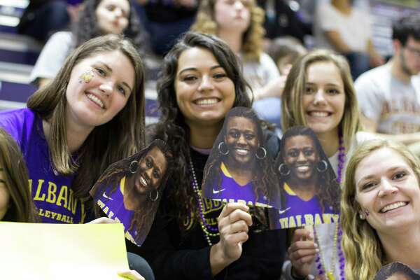 Were you Seen at the America East Women's Basketball Championship game with UAlbany vs. Maine at SEFCU Arena on the UAlbany campus on Friday, March 11, 2016?