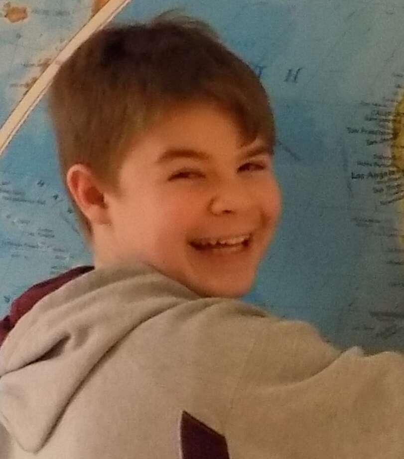 Logan Blind, student at Woodland Montessori School