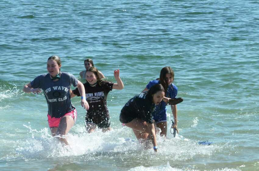 The 2016 Westport Penguin Plunge held by Special Olympics Connecticut took place at Compo Beach on March 12? Were you SEEN?
