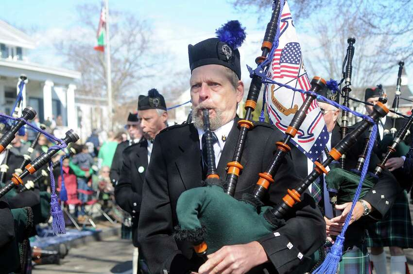 The St. Patrick's Day Parade in Milford, Conn., on Saturday, March 12, 2016.