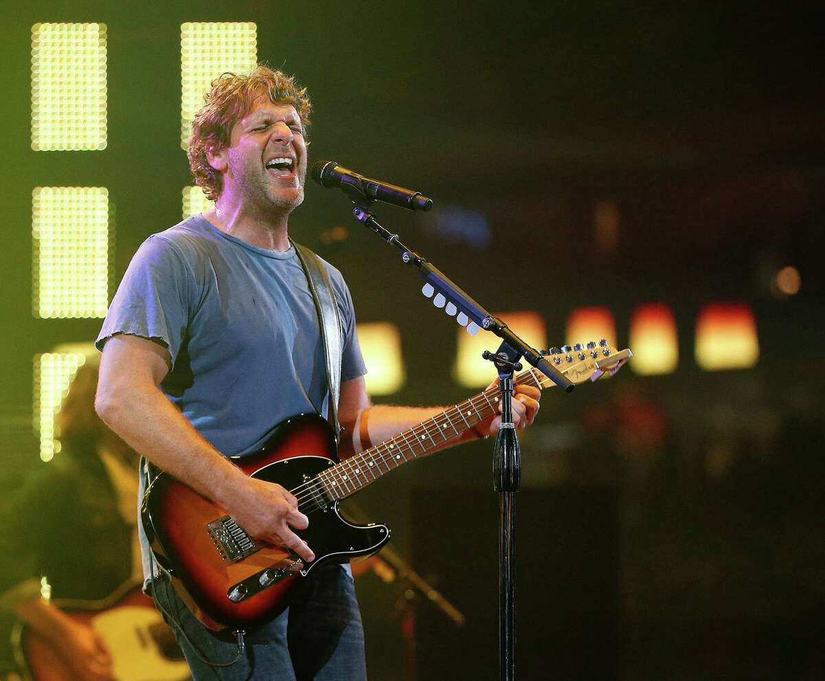 Billy Currington performs at the Houston Livestock Show and Rodeo at NRG Stadium, Saturday, March 12, 2016.