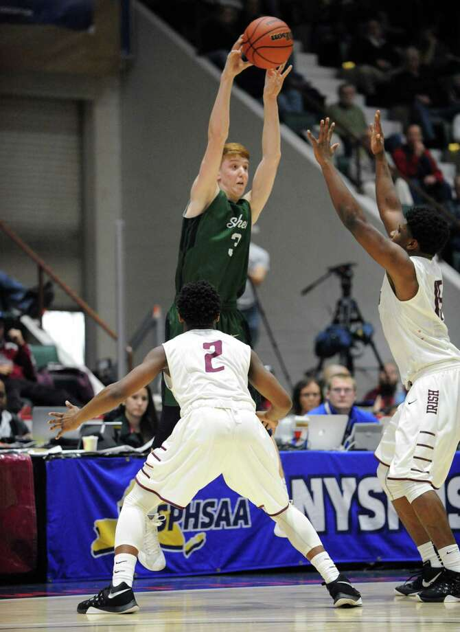 Click through the slideshow to see a few of the players who made this week's honor roll. Kevin Huerter, Shenendehowa Boy's Basketball: A 6-foot-6 senior point guard, Huerter delivered 30 points (7-for-10 on 3-pointers), nine rebounds and three assists Saturday in a 55-51 overtime loss to Aquinas in the state Class AA semifinals. Named 2016 Mr. New York State Basketball Wednesday, Huerter garnered an all-tournament selection. Photo: Michael P. Farrell / 10035773A