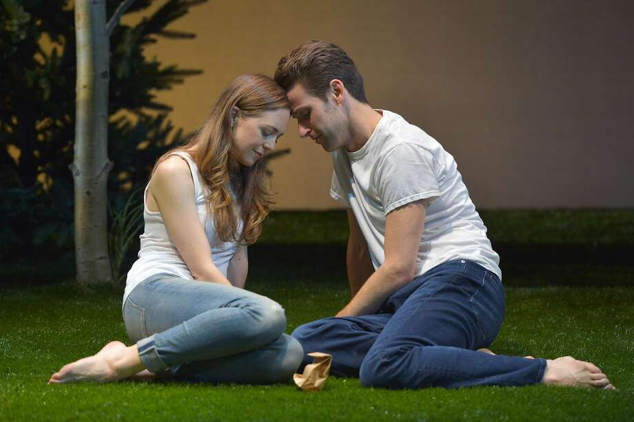 Allison Jean White, James Wagner in ACT production. Photo: Kevin Berne