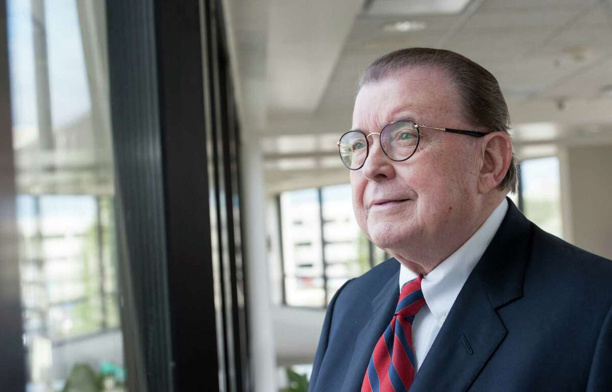 """Elmer Ellis, 75, CEO of East Texas Medical Center, says, """"No one wants to sue an insurance company ... it's what you have to do."""" The Tyler hospital won a temporary injunction to put it in network, but an appeals court later lifted it."""