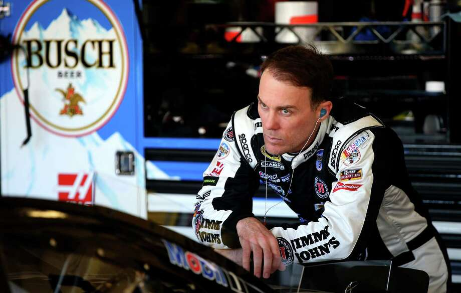 AVONDALE, AZ - MARCH 12:  Kevin Harvick, driver of the #4 Jimmy John's Chevrolet, stands in the garage area during practice for the NASCAR Sprint Cup Series Good Sam 500 at Phoenix International Raceway on March 12, 2016 in Avondale, Arizona.  (Photo by Sean Gardner/Getty Images) ORG XMIT: 609455695 Photo: Sean Gardner / 2016 Getty Images