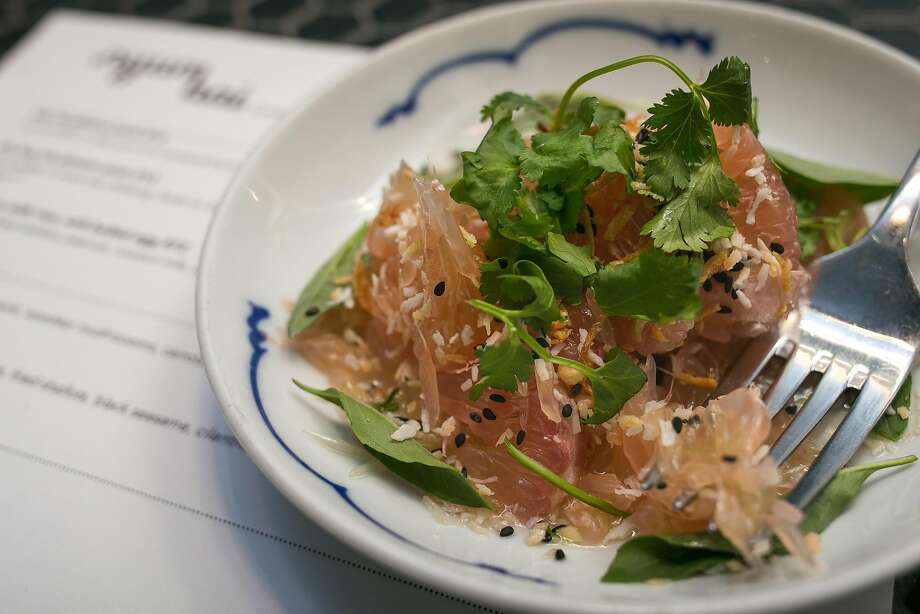 Pomelo salad from Nyum Bai, a Cambodian pop-up in S.F. Photo: Jen Fedrizzi, Special To The Chronicle