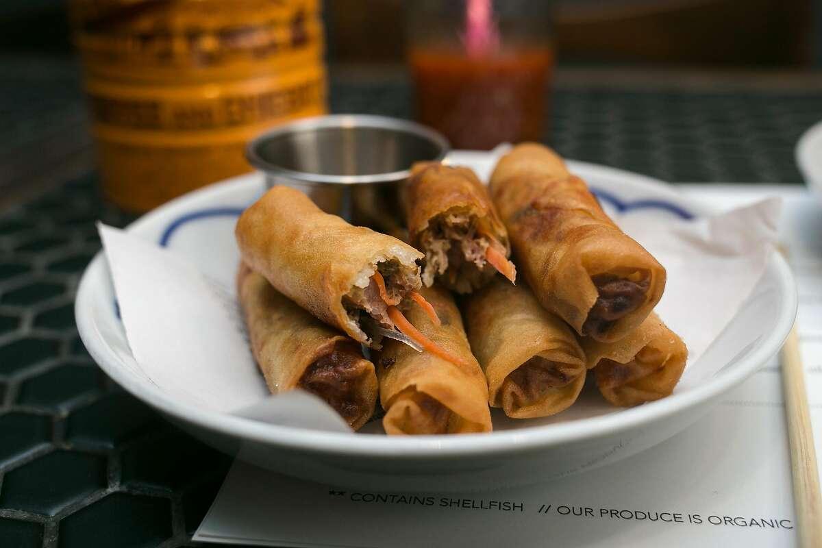 Chai ya fried spring rolls from Nyum Bai Cambodian pop-up in S.F.