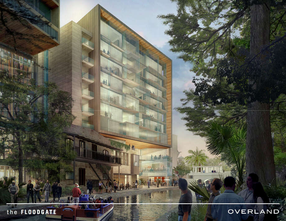 Upscale apartment building planned for River Walk downtown - San ...