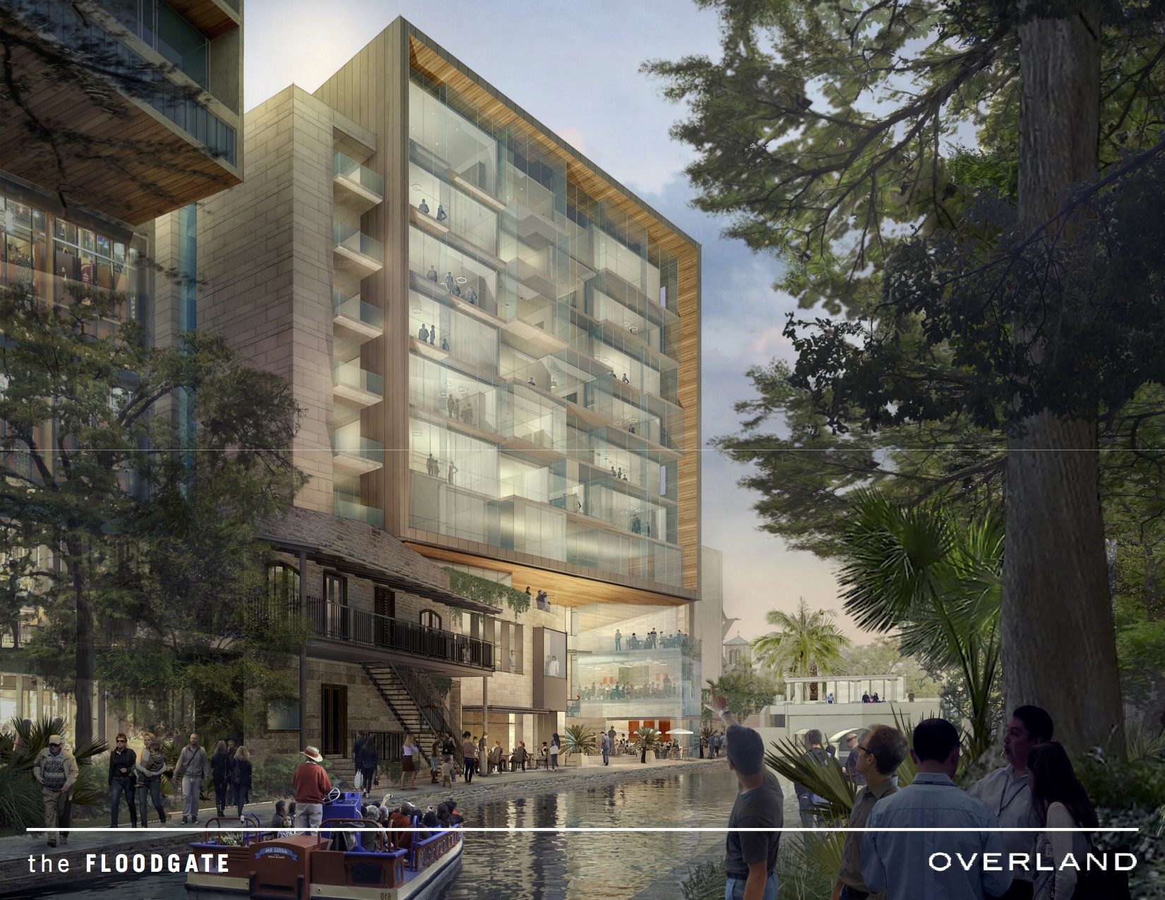 upscale apartment building planned for river walk downtown