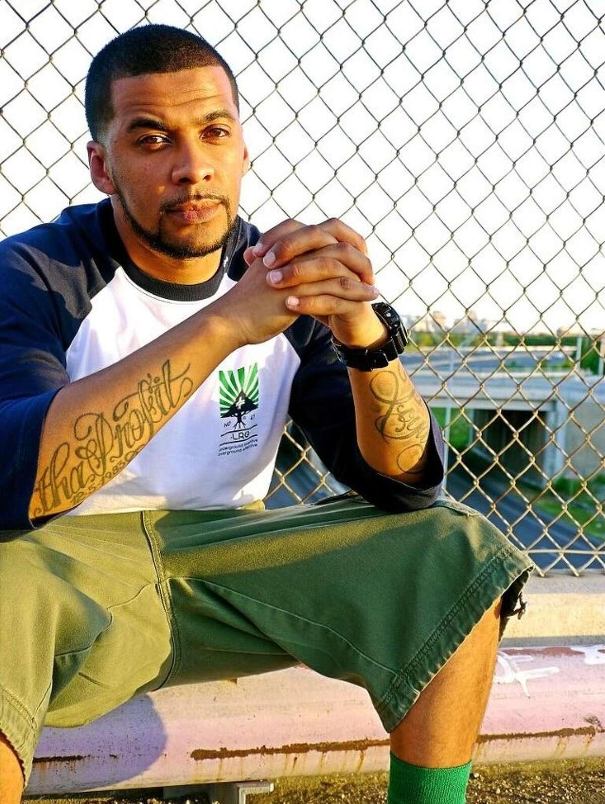 Rapper describes himself as a mellow, laid-back MC8:55 p.m. Tuesday, 512; 10:10 p.m. Saturday, Clive Bar