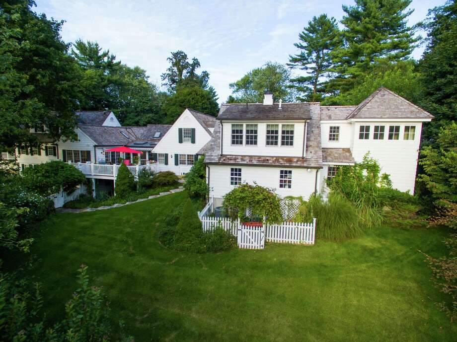 The expanded Cape sits on 3.5 acres. Photo: Contributed / Hearst Connecticut Media / New Canaan News