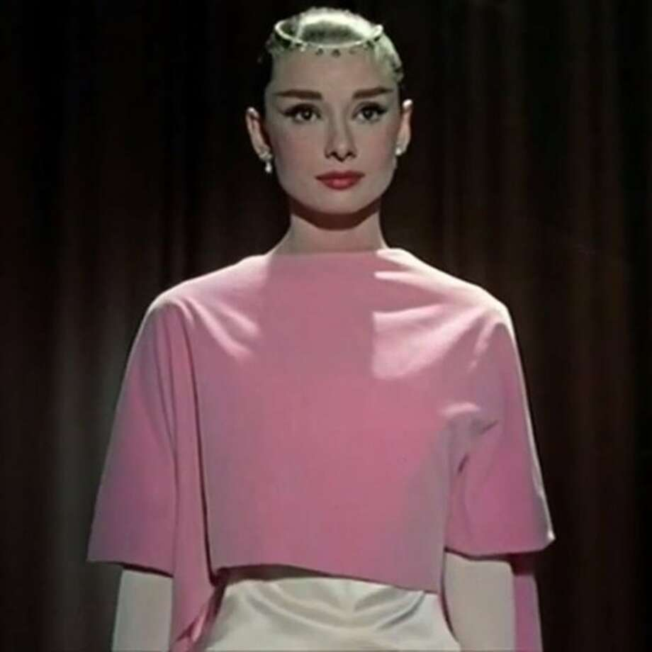 "Audrey Hepburn as a bookstore clerk turned model in ""Funny Face."" Photo courtesy of Paramount Home Video. Photo: Paramount"